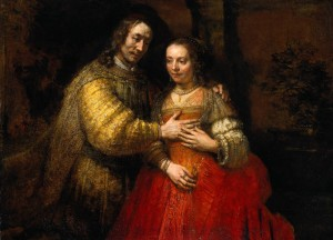 The Jewish Bride (Portrait of Two Figures from the Old Testament); 1667