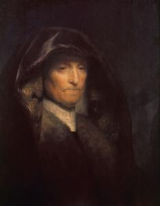 An Old Woman (1629; The Artist's Mother: Royal Collection, Presented to King Charles I) by Rembrandt