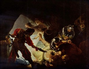 The Blinding of Samson, 1636, Rembrandt